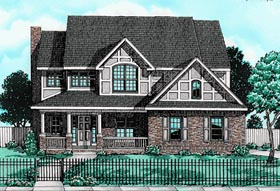Bungalow Country House Plan 97469 Elevation