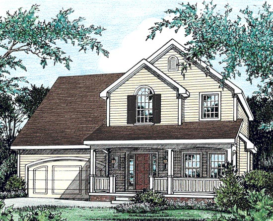 Country House Plan 97475 Elevation