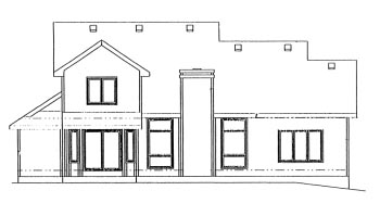 Country House Plan 97481 Rear Elevation