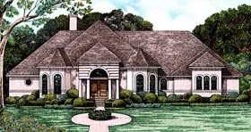 European Victorian House Plan 97486 Elevation