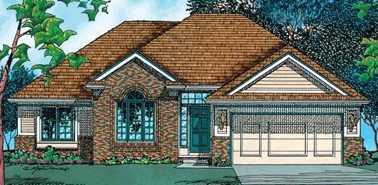 Traditional House Plan 97495 Elevation