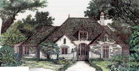 Plan Number 97504 - 2322 Square Feet