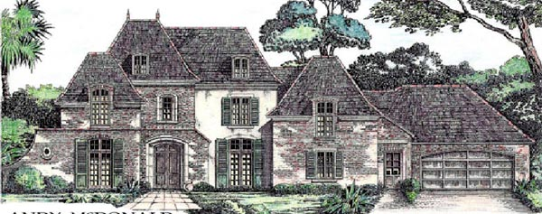 European Victorian House Plan 97516 Elevation