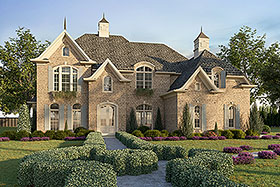 Country European Southern Traditional House Plan 97615 Elevation