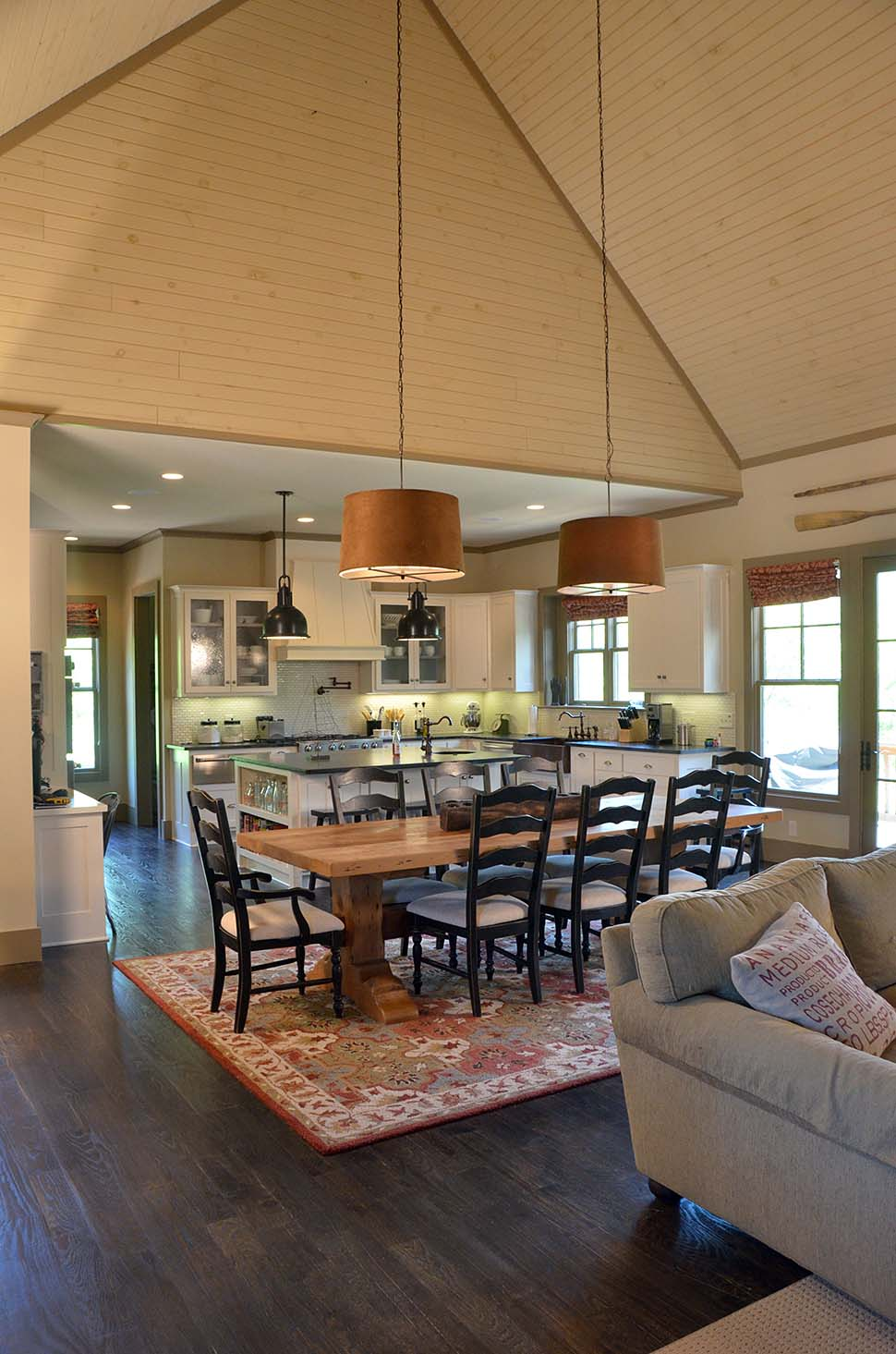 Country, Craftsman, Tuscan House Plan 97637 with 3 Beds, 4 Baths, 3 Car Garage Picture 2