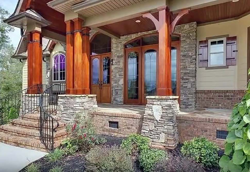 Craftsman, Tuscan House Plan 97640 with 3 Beds, 4 Baths, 2 Car Garage Picture 3