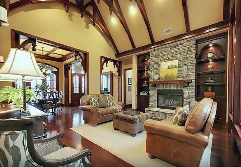 Craftsman, Tuscan House Plan 97640 with 3 Beds, 4 Baths, 2 Car Garage Picture 7