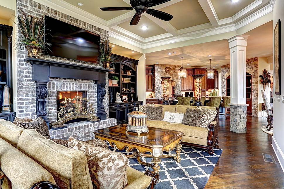 Craftsman, Ranch, Tuscan House Plan 97680 with 3 Beds, 4 Baths, 3 Car Garage Picture 16