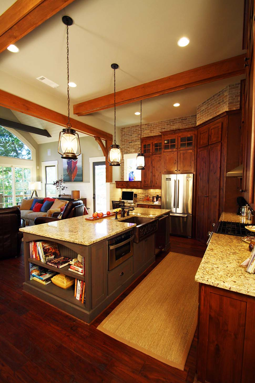 Craftsman, One-Story, Ranch, Traditional House Plan 97687 with 3 Beds, 3 Baths, 2 Car Garage Picture 7