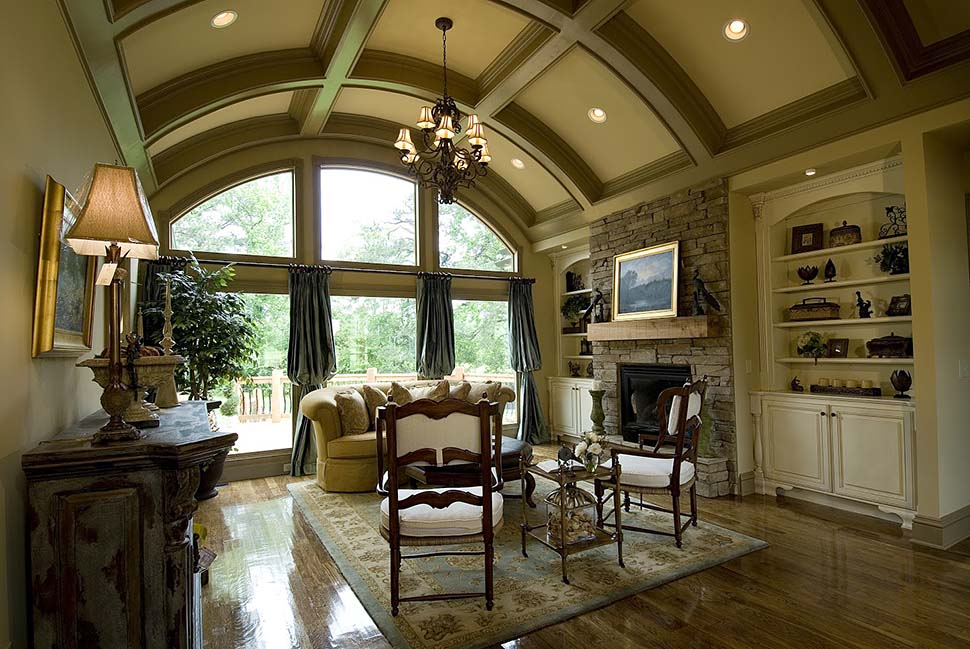 Ranch, Traditional House Plan 97692 with 5 Beds, 6 Baths, 3 Car Garage Picture 2