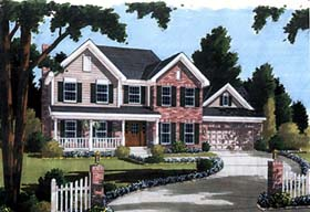 Country House Plan 97700 Elevation