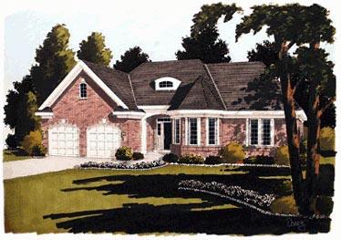 European Victorian House Plan 97703 Elevation