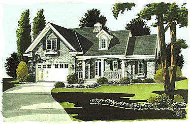 Country House Plan 97705 Elevation