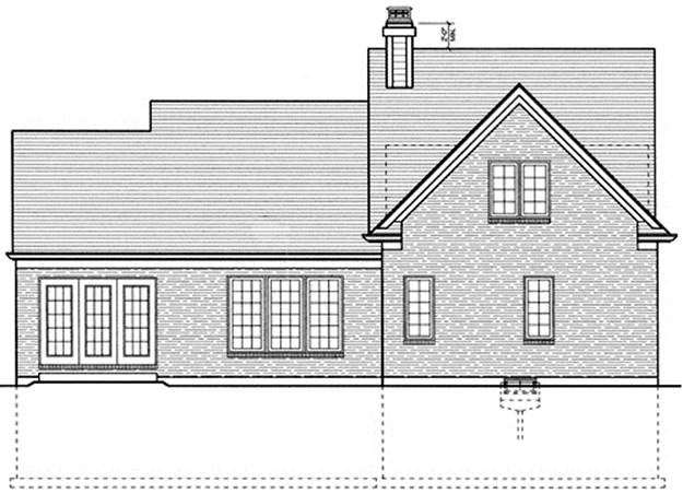 Country House Plan 97705 Rear Elevation