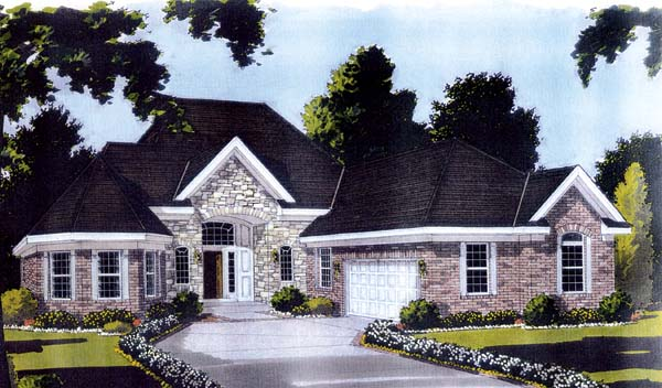 European Victorian House Plan 97710 Elevation