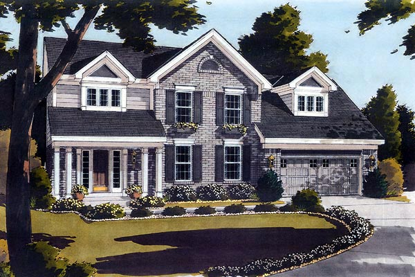 Country House Plan 97712 Elevation