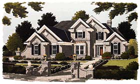 Traditional House Plan 97715 Elevation