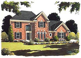 Traditional House Plan 97728 Elevation