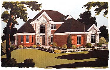 European Victorian House Plan 97732 Elevation