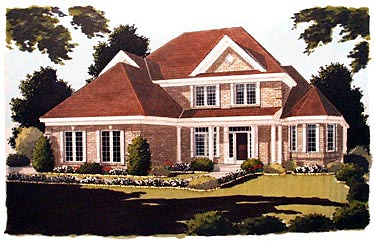 Country European House Plan 97733 Elevation