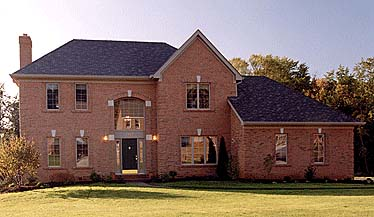 Traditional House Plan 97736 Rear Elevation