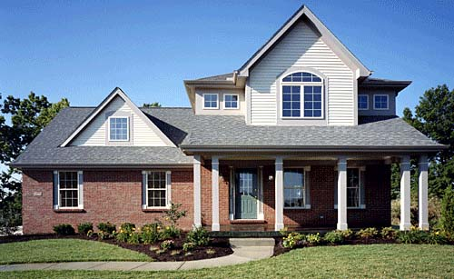 Country, Farmhouse, Traditional House Plan 97738 with 3 Beds, 3 Baths, 2 Car Garage Picture 1