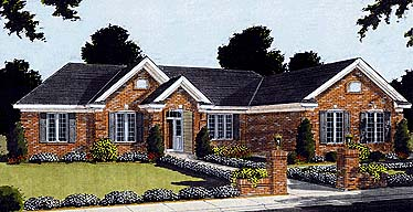 Ranch House Plan 97741 Elevation