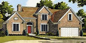 Traditional House Plan 97744 Elevation
