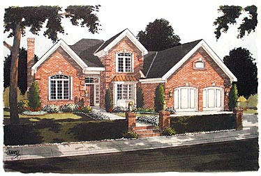 Traditional House Plan 97745 Elevation