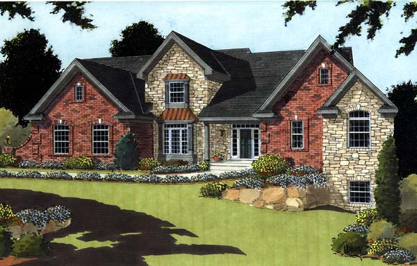 Traditional House Plan 97747 Elevation