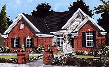 Traditional House Plan 97752 Elevation