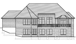 Traditional House Plan 97753 Rear Elevation