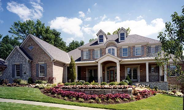 Colonial House Plan 97756 Elevation