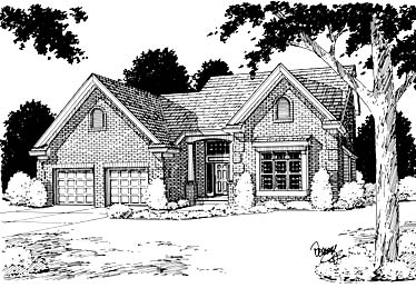 Traditional House Plan 97758 Elevation