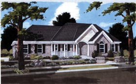 Traditional House Plan 97759 Elevation