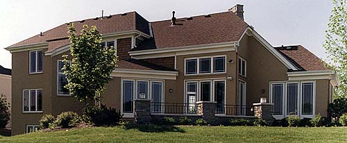 Bungalow Tudor House Plan 97765 Rear Elevation