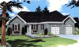 Traditional House Plan 97777 Elevation