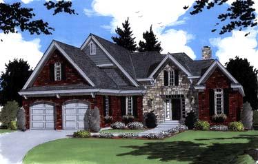 Bungalow House Plan 97779 Elevation