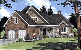 Bungalow House Plan 97780 Elevation