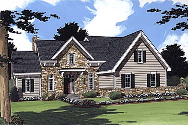 Bungalow House Plan 97782 Elevation