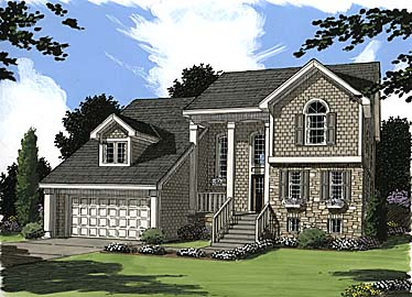 Bungalow Country House Plan 97785 Elevation