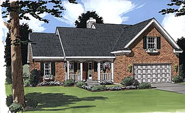 Traditional House Plan 97788 Elevation