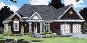 European House Plan 97793 Elevation
