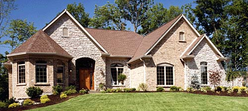 European Traditional House Plan 97796