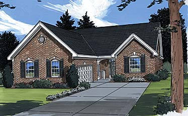 Traditional House Plan 97798 Elevation