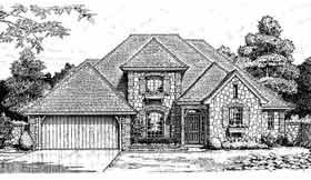 European House Plan 97803 Elevation