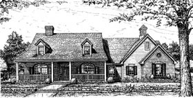 Country House Plan 97819 Elevation
