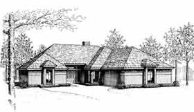 Traditional House Plan 97826 Elevation