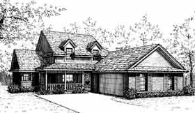 Country House Plan 97828 Elevation