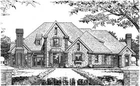 Plan Number 97831 - 3690 Square Feet